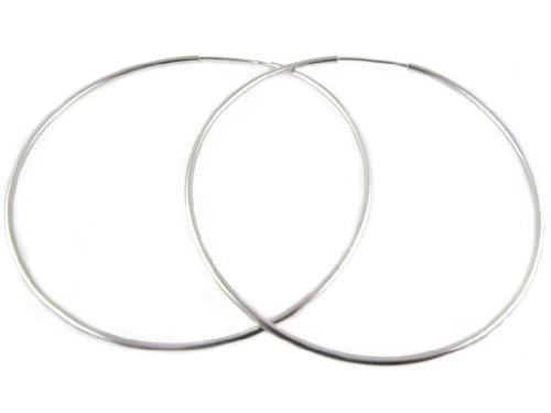 Alberta Orecchini in argento 925 a cerchio - diametro 60mm