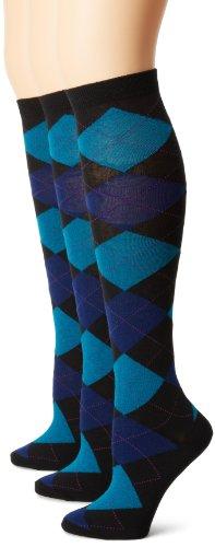 凑单品:HUE 及膝长筒袜 3双装 $4.79图片