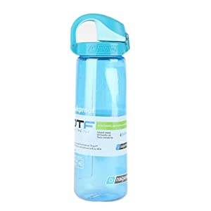 Nalgene On The Fly Water Bottle (Blue with Glacial Blue Cap)