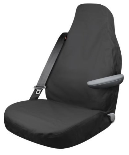 Dickies 3000701 Black X-Large Heavy Duty High Back Truck Canvas Seat Cover