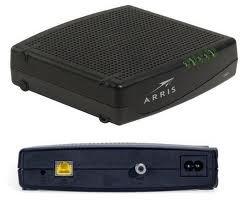 ARRIS Touchstone Cable Modem CM820 DOCSIS 3.0 8x4