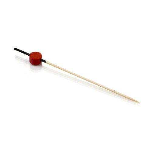 Restaurantware Japanese Bamboo Pick Black And Red 4.5 In. 1000 Count Box