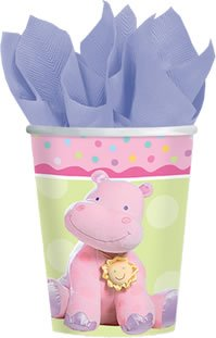 Teeny Tiny Girl 9 Oz. Hot/Cold Cups - 8/Pkg.