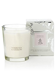 Signature Spa Verbena & Lemon Scented Candle