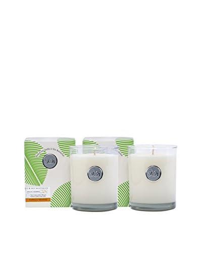 The Soi Co. Set of 2 Luxe Box Moisturizing 13.5-Oz. Candles, Vanilla Orange