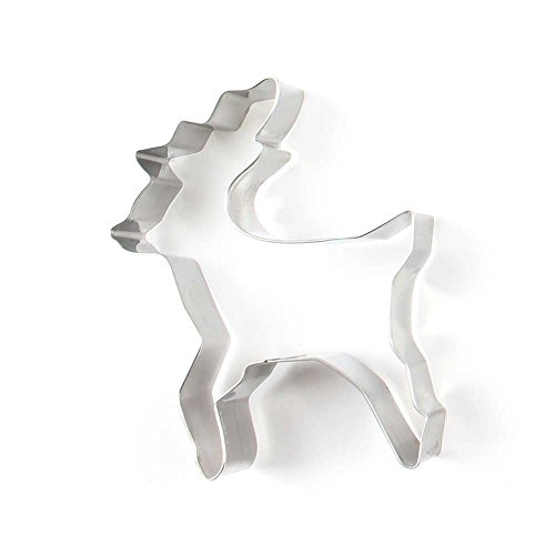 1 Piece Biscuit Cookie Cutter Deer Metal Jelly Cake Mould Fruits Molds (Deer Cutter compare prices)