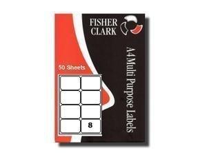 Etiquettes Adresses Imprimante Pk50 A4 8 par feuille Compatible Avery L7165