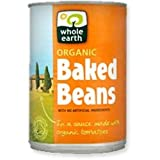 THREE PACKS of Whole Earth Organic Baked Beans 420g