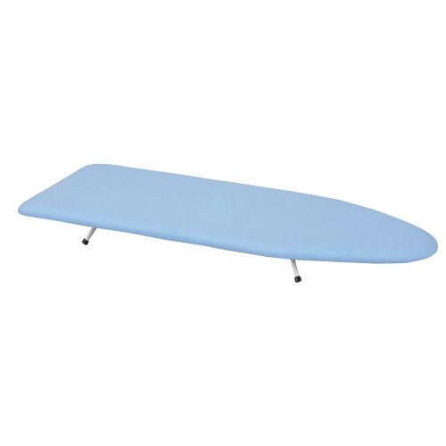 Household Essentials Presswood Table-Top Ironing Board with Folding Legs, 12-Inch x 30-Inch