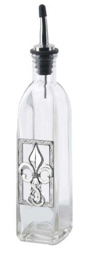 Fleur-de-Lis Oil Bottle