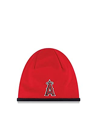 MLB Los Angeles Angels 2015 Tech Knit Beanie, Red, One Size Fits All