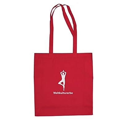 Weltkulturerbe Yoga - Stofftasche / Beutel