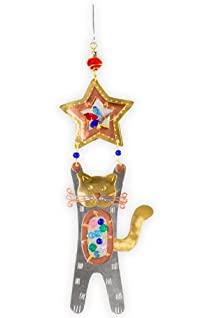 Pilgrim Imports Paws Up Kitty Fair Trade Ornament