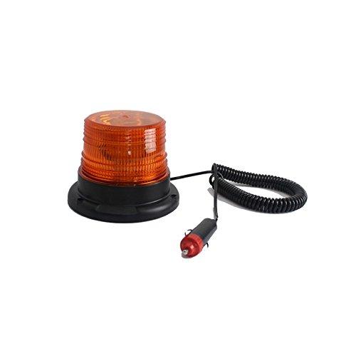 12-v-24-v-30-led-veicolo-sul-tetto-faro-lampeggiante-aratro-amber15-w-base-magnetica-stick