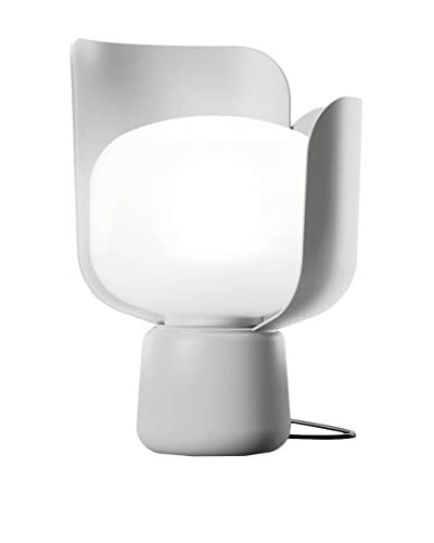 FontanaArte Lampada Da Tavolo Blom Bianco