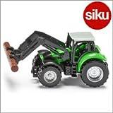 Siku(ジク)社 輸入ミニカー 1380 ドゥーツ トラクター木材運搬アーム付