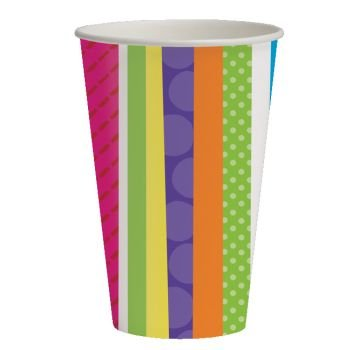 Bright and Bold 9oz Hot/Cold Cups (8 ct) by Creative Converting