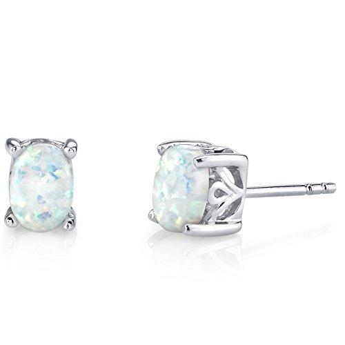 sterling-silver-150-carats-oval-shape-created-opal-stud-earrings