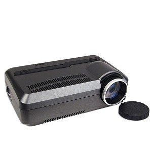 Mini AV LED Projector - Enjoy Custom Viewing w/a 21 to 80 Display!