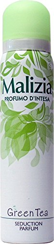 12 x MALIZIA Deo Donna Profumo D'Intesa Spray Green Tea 100 Ml