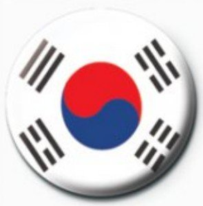 サブカル缶バッジ『韓国国旗《大極旗》』
