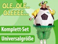 Playtastic Selbstaufblasendes Fan-Kostuem Brasilien bei aufblasbar.de