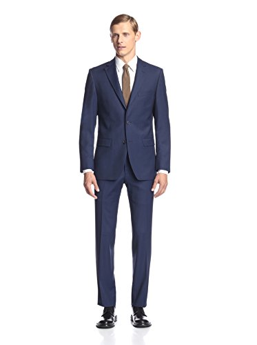 Simon Spurr Men's Pindot Slim Fit Suit