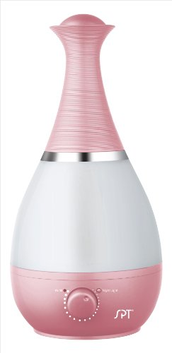 SPT SU-2550P Ultrasonic Humidifier with Fragrance Diffuser, Pink - 1