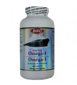BEC Seal Oil Omega-3 500mg 300capsules X 3(3 Bottles) (Bec Omega compare prices)