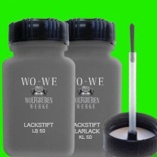 2 x 400ml Spray Can of Car Repair Touch up Paint for Audi LZ5A Tiefseeblau P.M.