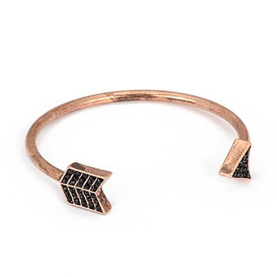 Jewellery Chic Boutique Copper Statement Bow Cupid's ARROW Costume Jewellery Bracelet Bangle + Gift Bag