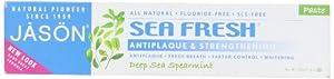 Jason Sea Fresh Toothpaste, Deep Sea Spearmint, 6 Ounce