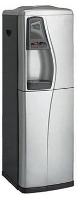 Apec Ultra Pure Hot & Cold Bottleless Water Cooler Dispenser W/ Reverse Osmosis Filter - (50 Gpd Silver & Black)