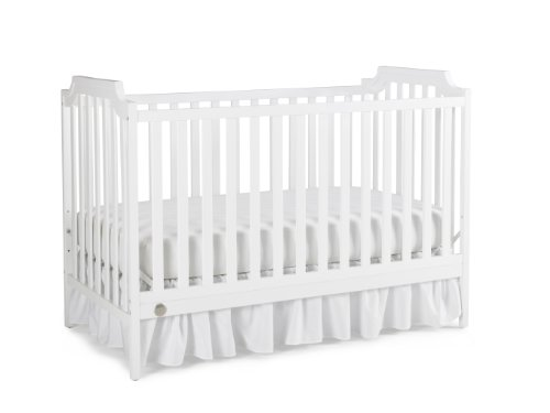 Fisher-Price Providence 3-in-1 Convertible Crib, Snow White - 1