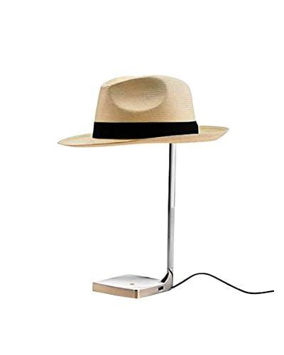 Lampada Da Tavolo Chapo Cromo 40 / 11 x 11 cm