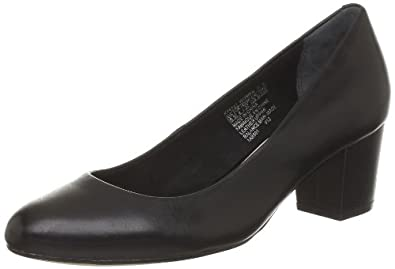 Rockport Phaedra Pump, Chaussures basses femme - Noir (Black), 36 EU (5.5 US)