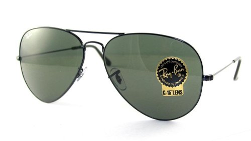 Ray-Ban 3026 L2821 Black 3026 Large Aviator Aviator Sunglasses Lens Category 3