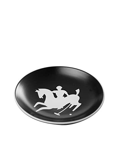 Waylande Gregory Polo Small Bullet Bowl, Black/White