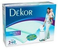 Buy diaper dekor plus diaper disposal system for Dekor classic refill