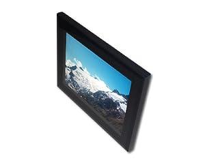 Digitaler Bilderrahmen mit 30cm Diagonale (12 Zoll) mit Echtglasfront, Zeitschaltuhr und Internem Speicher (F12A Slim)