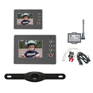 "Peak PKC0RB Wireless Back-Up Camera System with 3.5"" LCD Color Monitor"