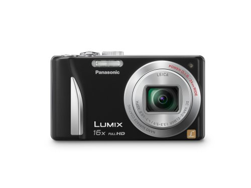 Panasonic Lumix ZS15 12.1 MP High Sensitivity MOS Digital Camera with 16x Optical Zoom (Black)