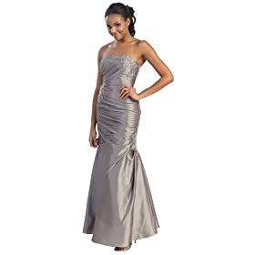 Strapless Junior Prom Dress Long Gown #21009