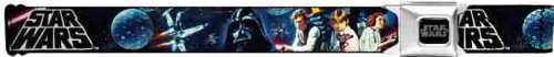 Star Wars Seatbelt Belt - Darth Vader, Princess Leia, Luke Skywalker & Han