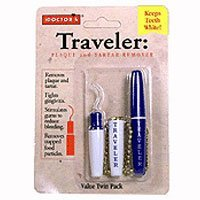 Doctors Traveler Plaque and Tartar Remover, Twin Pack, 1 Each