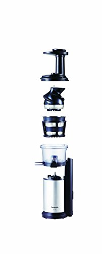 Panasonic Mj L500 Slow Juicer With Frozen Treat Attachment : Panasonic MJ-L500 Slow Juicer with Frozen Treat Attachment, Black/Silver Home Garden Kitchen ...