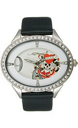 Ed Hardy Showgirl Love Kills White Dial Women's watch #SG-LK