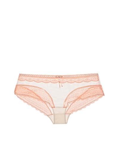 Pleasure State Damenslip rosa/elfenbein