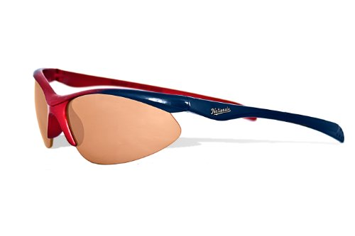 MLB Washington Nationals Rookie Sunglasses with Bag, Red and Navy, Child at Amazon.com