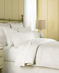 Martha Stewart Eyelet 360 Thread Count Twin Bedskirt Milk White